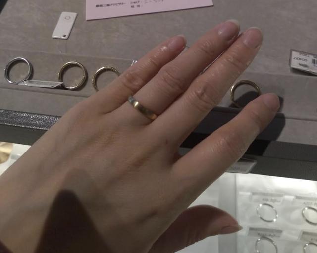 ニーシング指輪