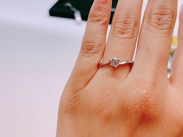 一番気に入った婚約指輪です。