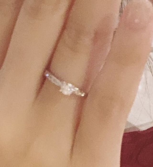 Diana.Dの指輪です