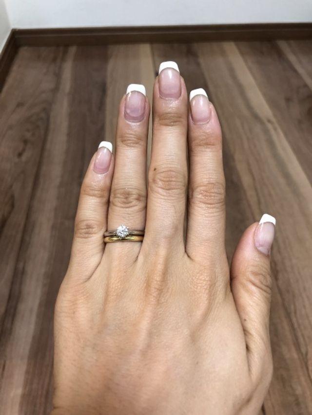 結婚指輪と婚約指輪のセット購入
