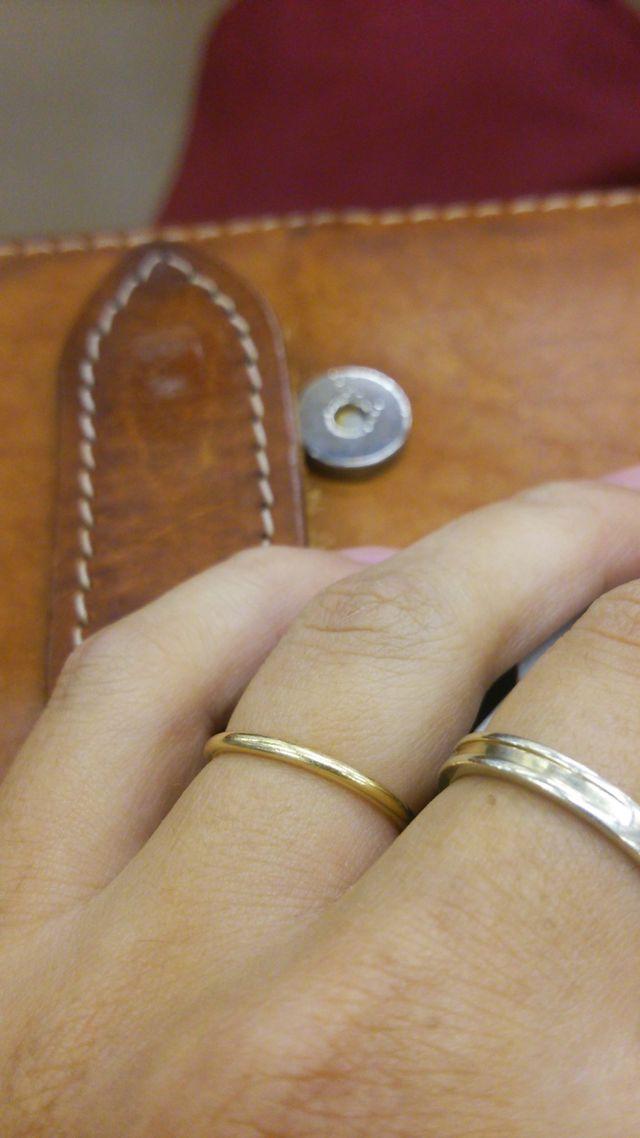 ケイウノのオーダーメイドの指輪。
