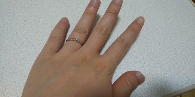 つけ心地もよく、指がきれいに見える気がします!