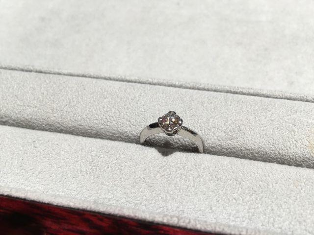 サプライズの指輪