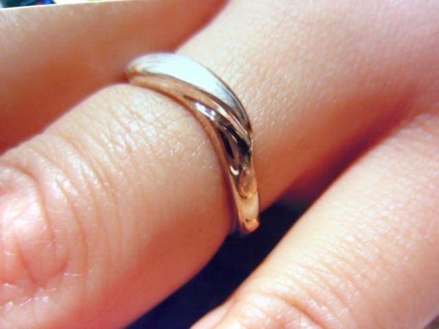 私の指輪。