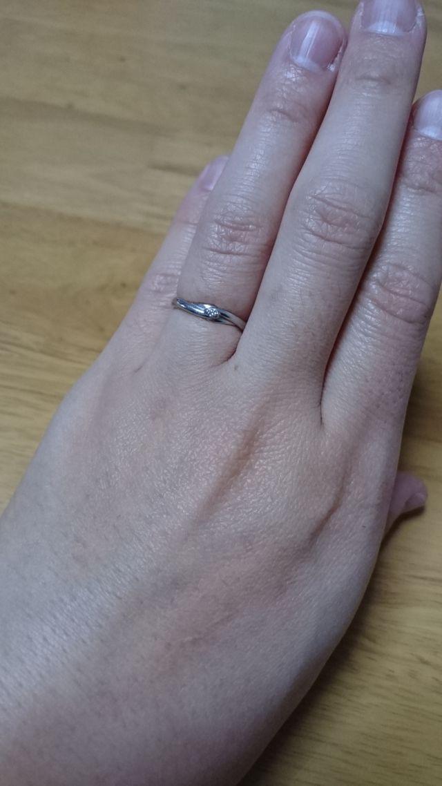 1つダイヤがあるタイプです。