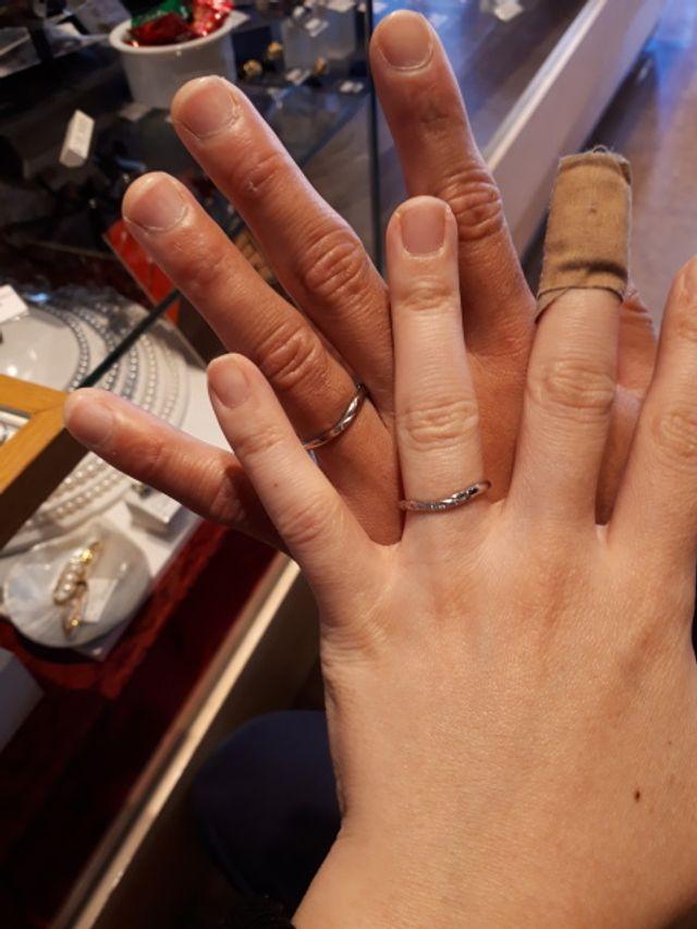 イリス結婚指輪