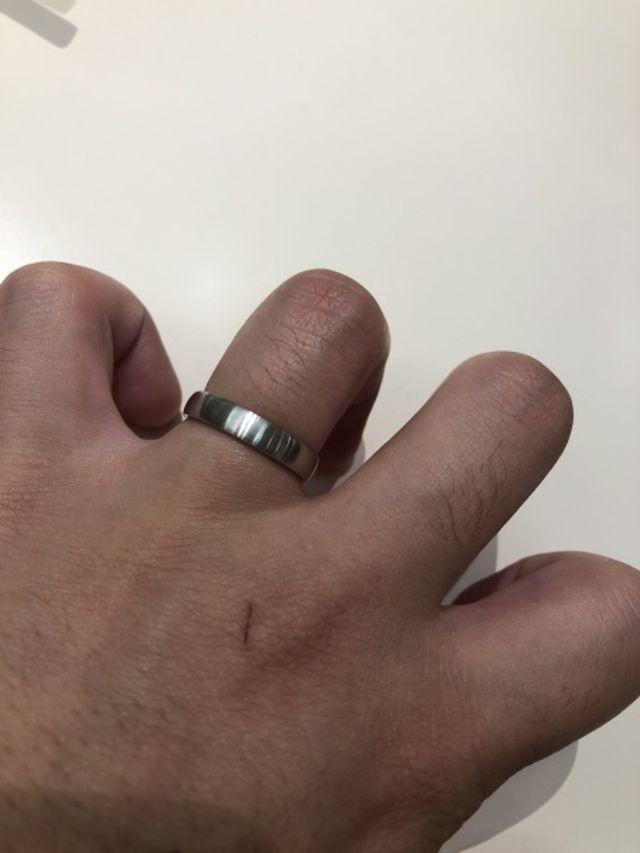こんなゴツくてボロボロの手でもかっこよく見えます
