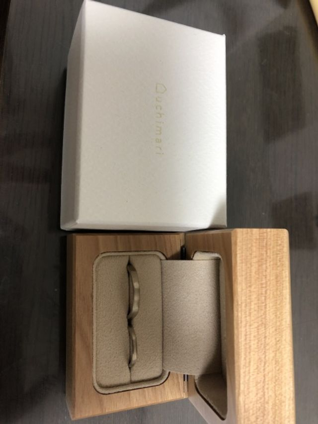 指輪とボックス