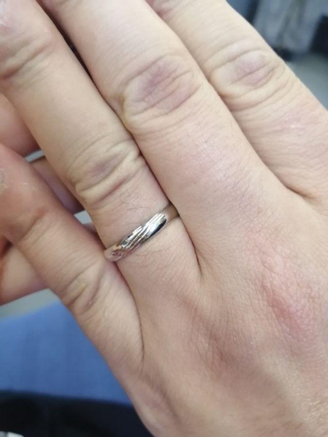 彼の指輪です