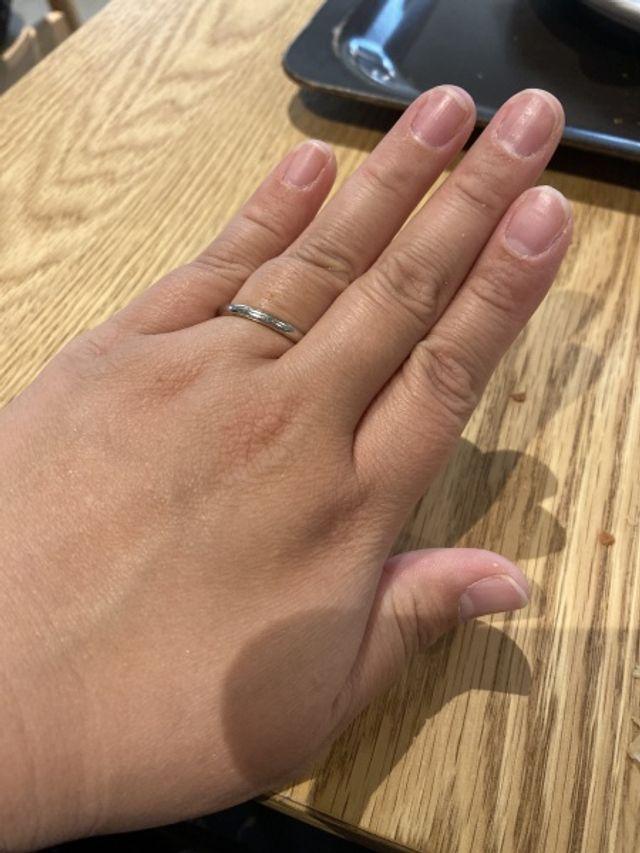 指が太いのですが、サイズがあって良かったです。笑