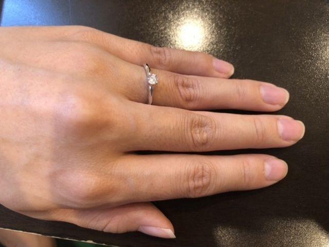 完成した指輪