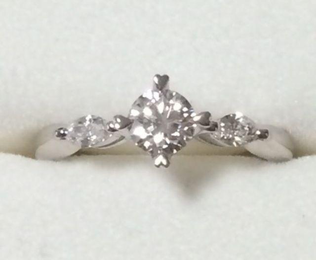指輪正面の写真