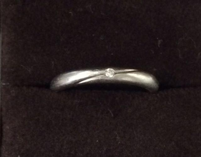 結婚指輪正面