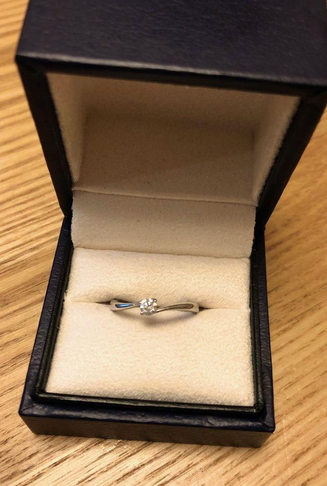 ヴァンドーム青山のプラチナダイヤモンドリングです