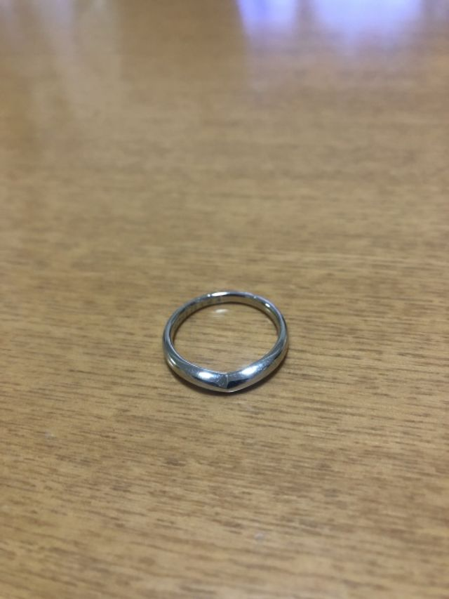 指輪のみ 正面撮影