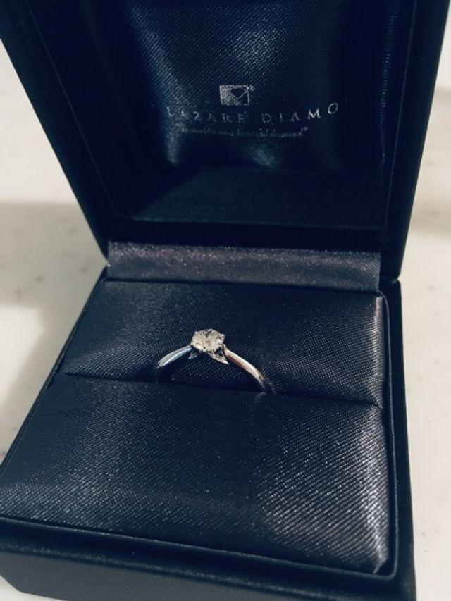 購入時の良い写真がなく、4年目現在の指輪。