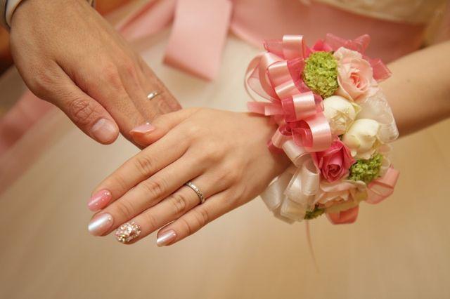 結婚式での一枚