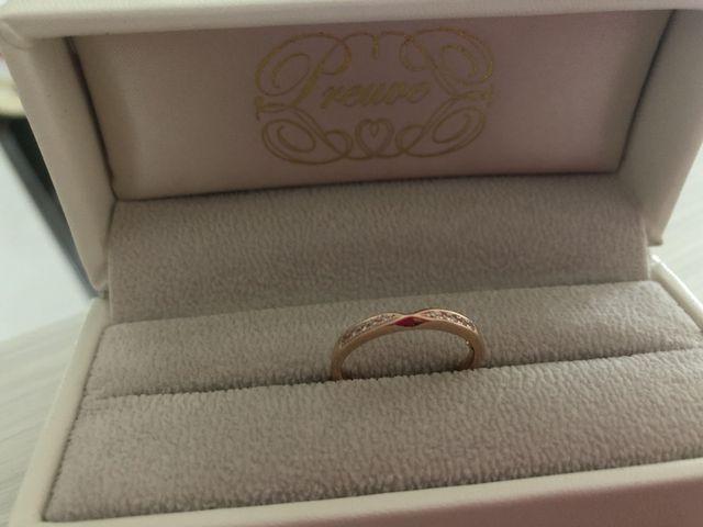 素敵な指輪です‼︎