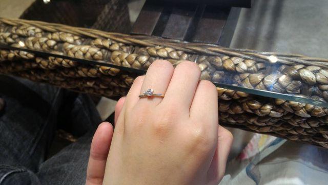 デザイン性の高い指輪