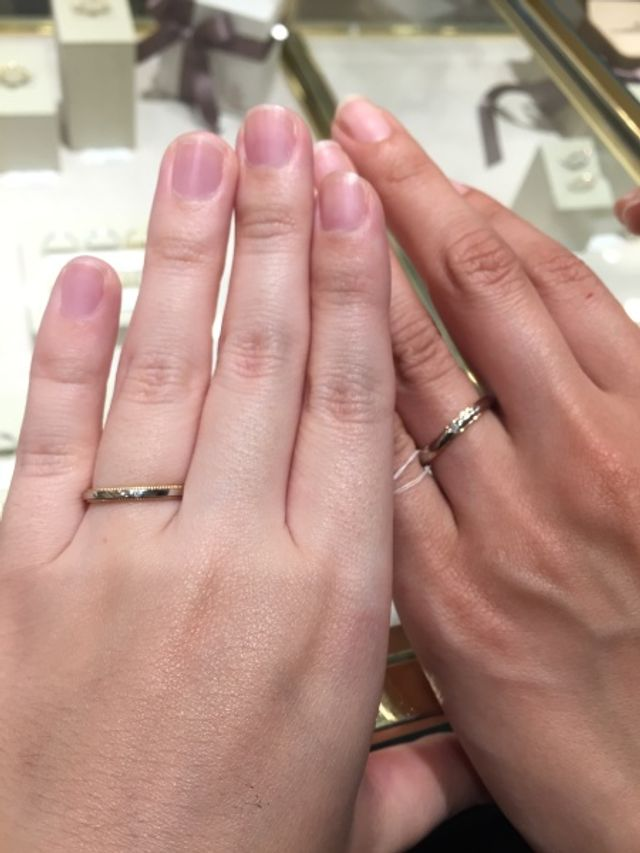 1番気に入った指輪デザイン
