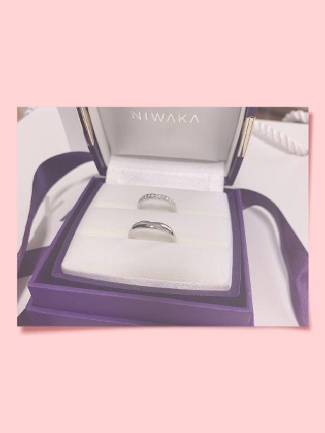 俄 結婚指輪 睡蓮