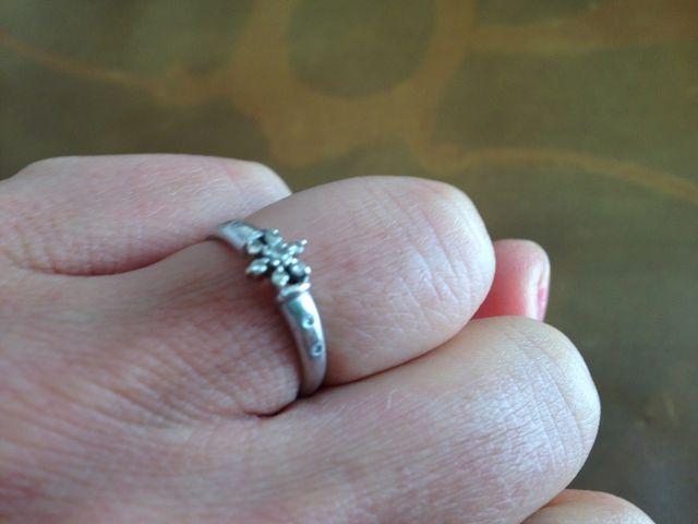 婚約指輪の写真です