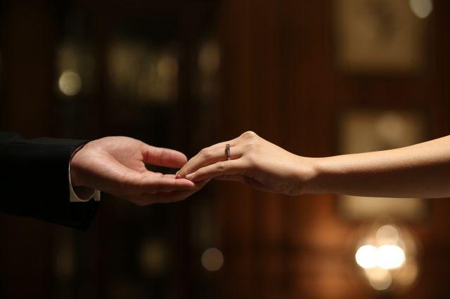 婚約指輪。前撮り