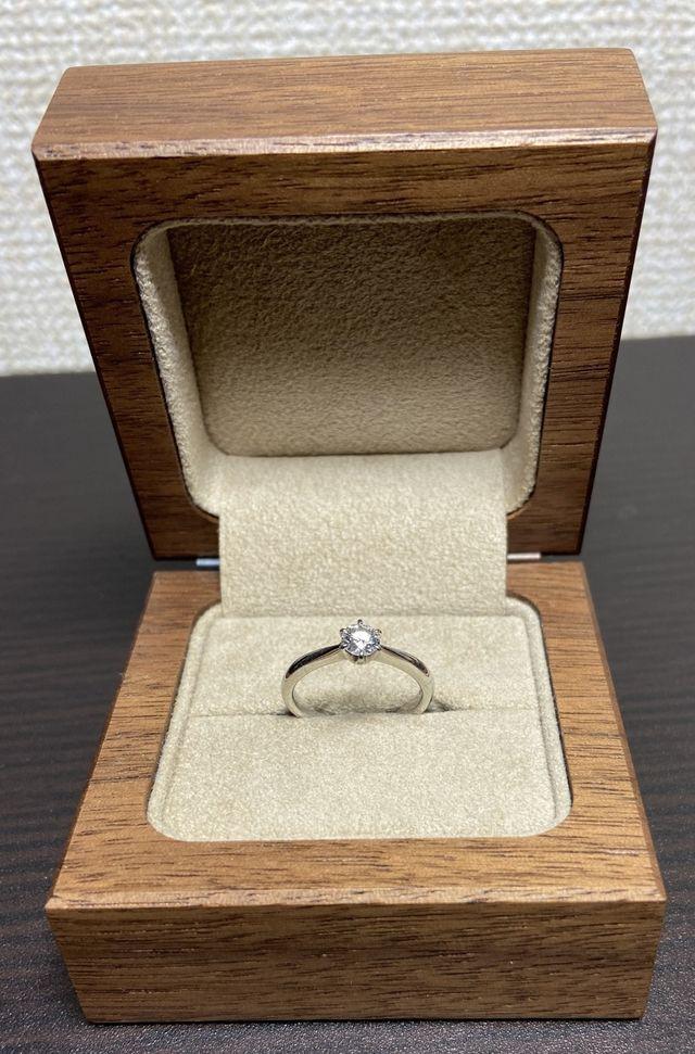 「想」シリーズをベースに作って頂いた結婚指輪です