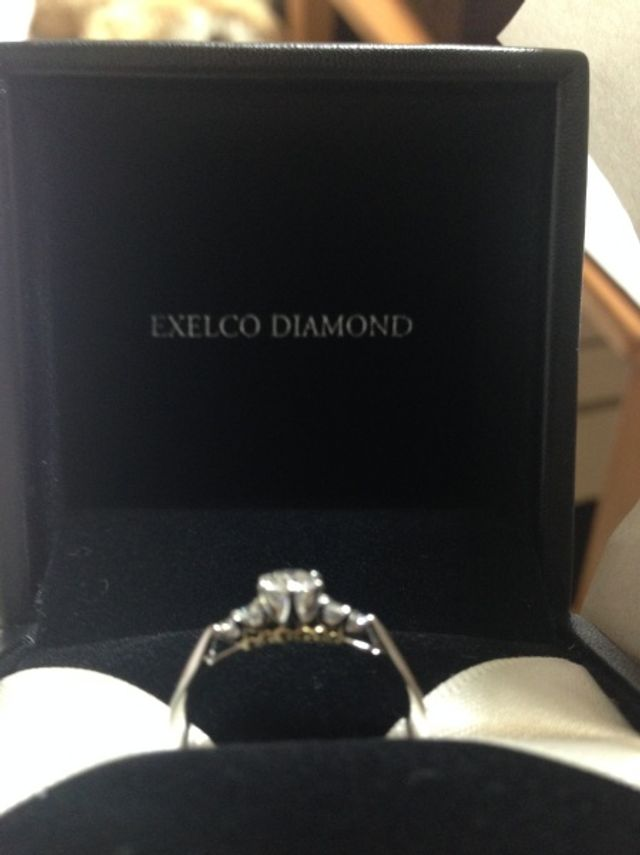 購入した指輪です