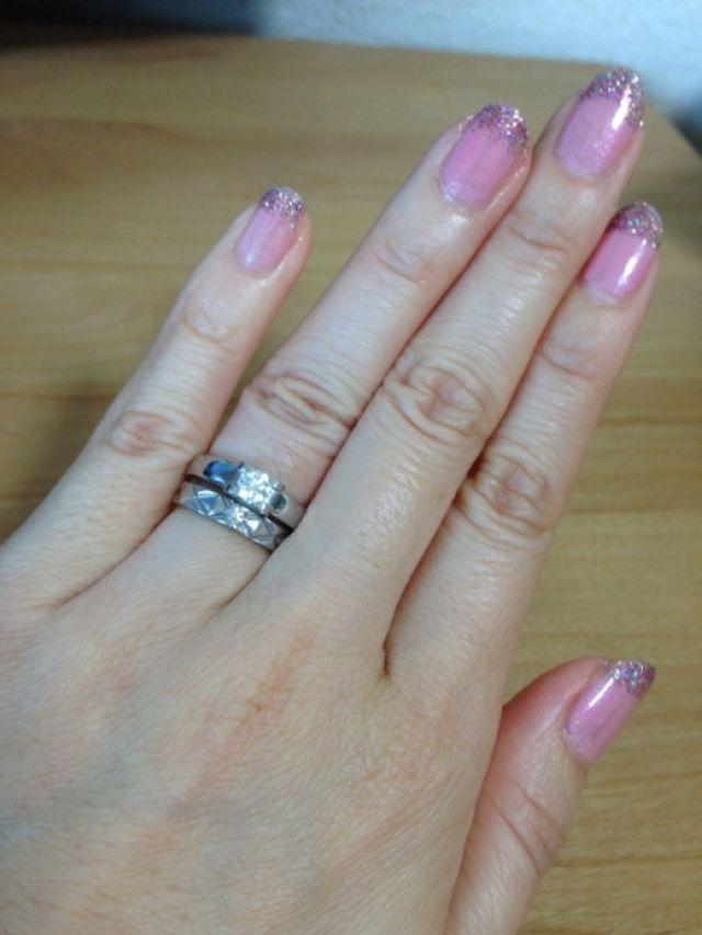 重ねづけ。婚約指輪(上)