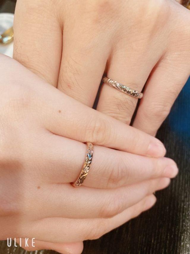 結婚指輪をマカナにしました(^^)
