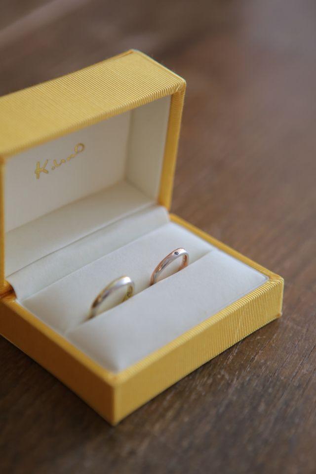 オーダメイドで納得のいく婚約指輪を作りました。