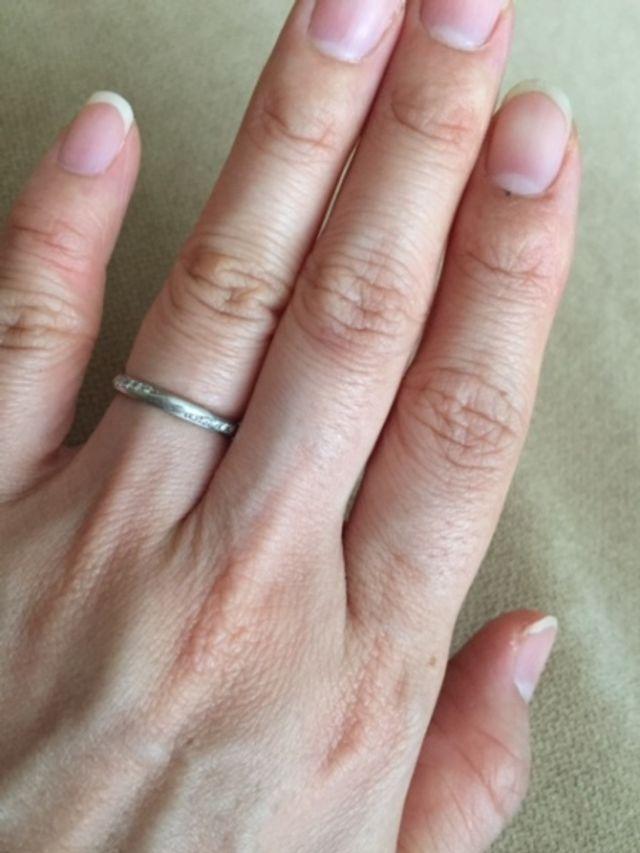 ダイヤ入り結婚指輪