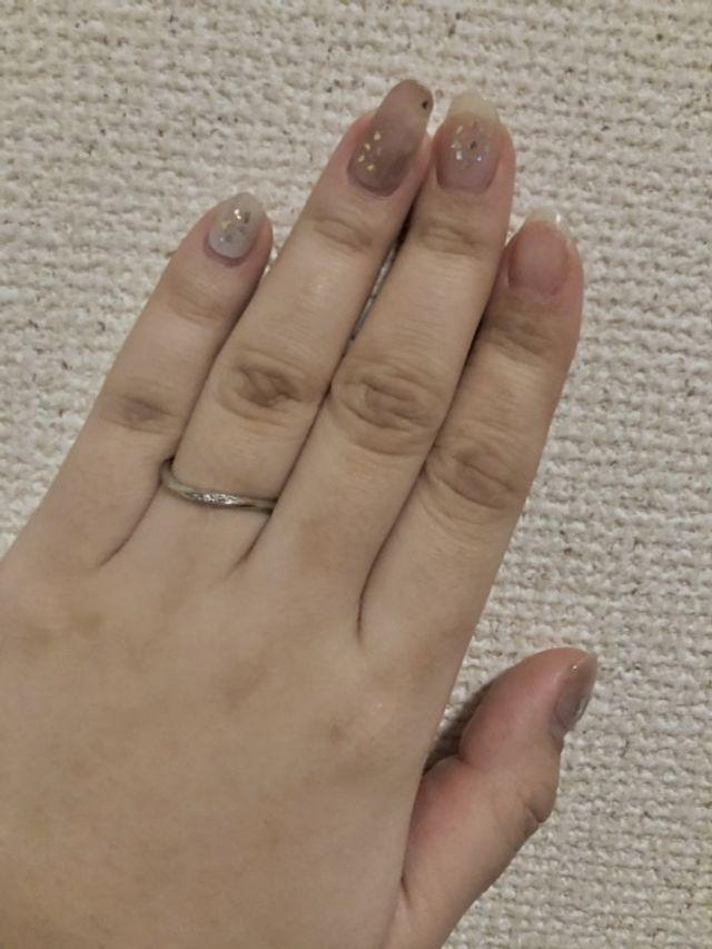 ノクルのシンプルな指輪