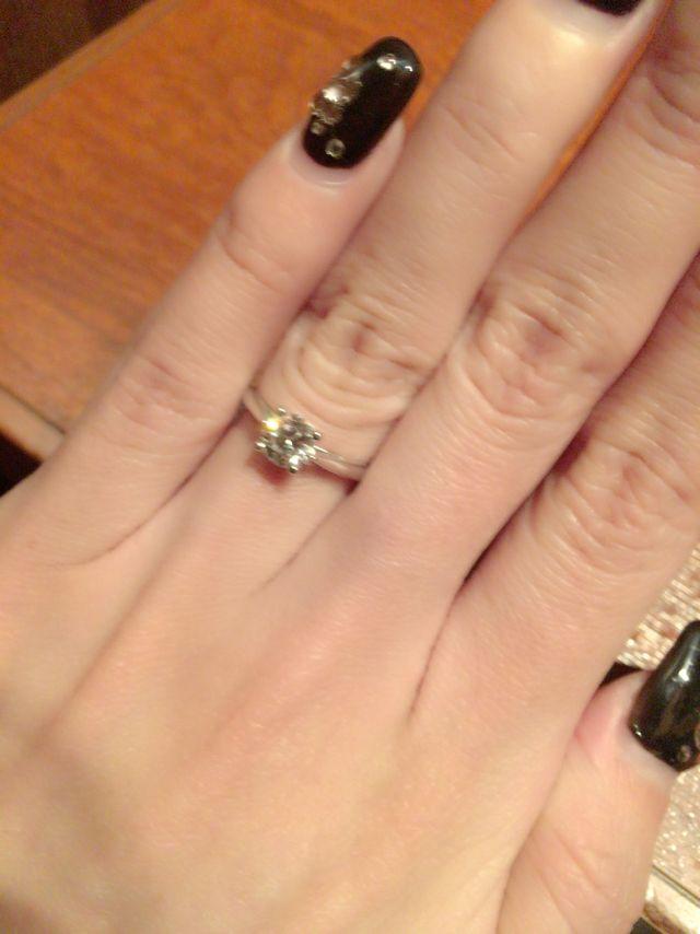 店員さんにも指輪にも大満足です♪