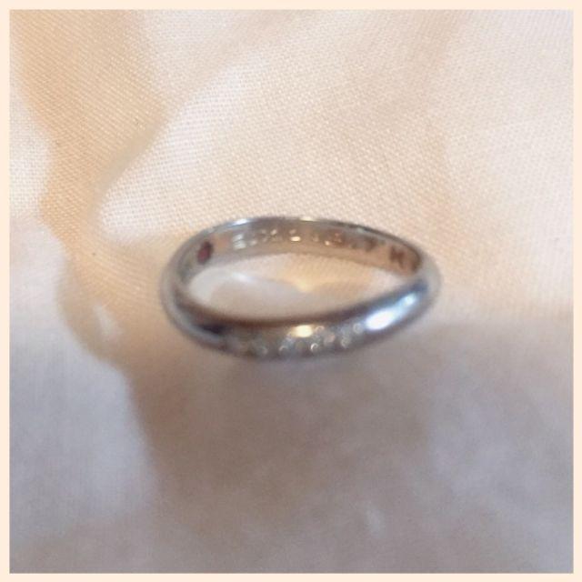 結婚指輪のみ写真