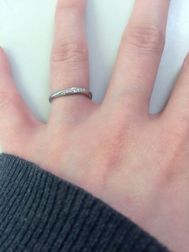 婚約指輪がなかったのでとっても嬉しかったです。