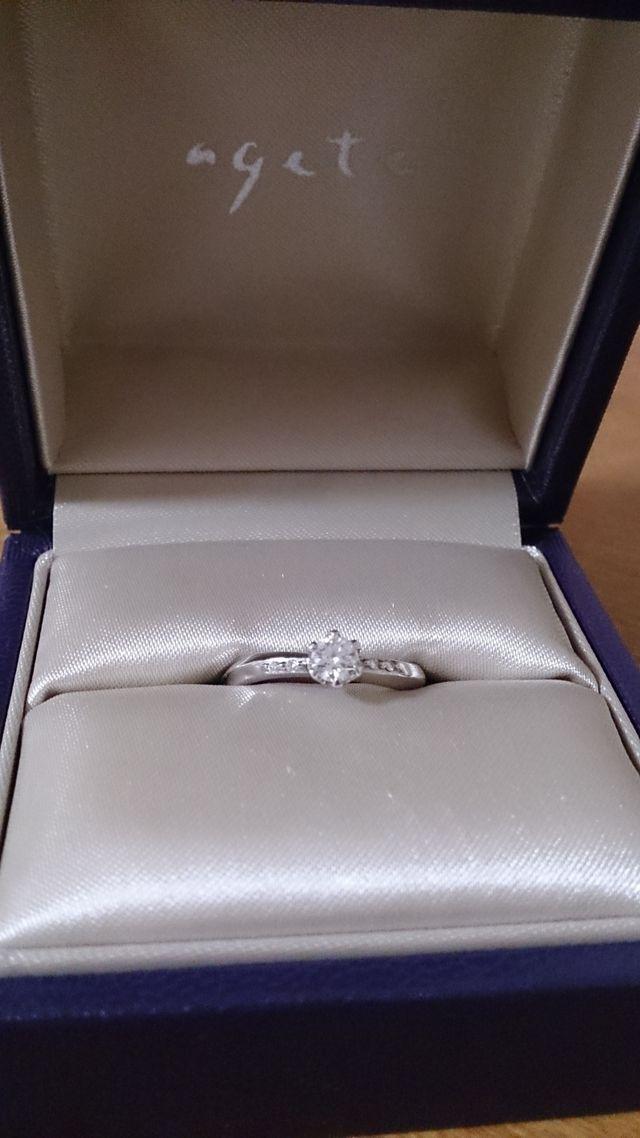 アガット*婚約指輪