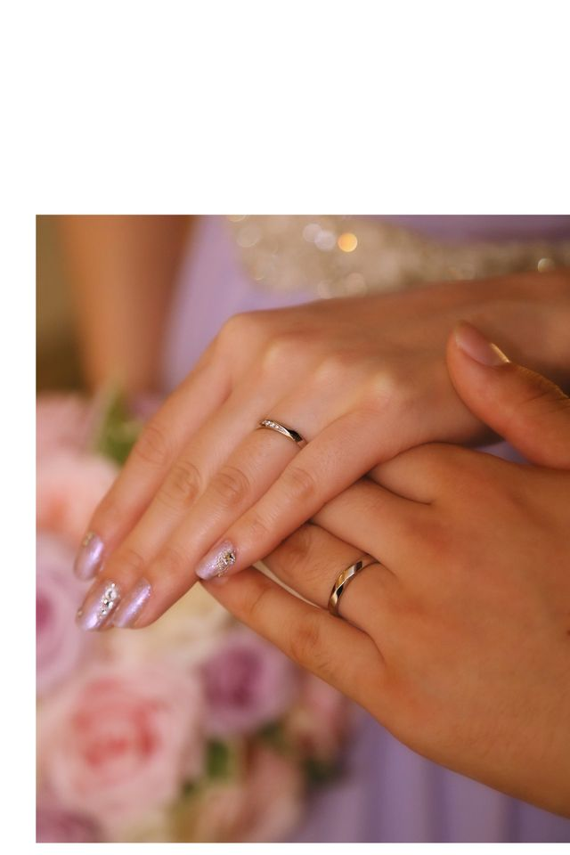 結婚式のときにとってもらった写真です