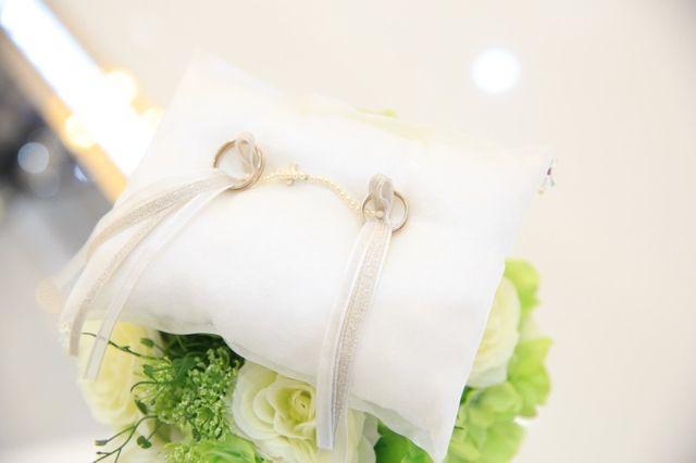 結婚式場にて