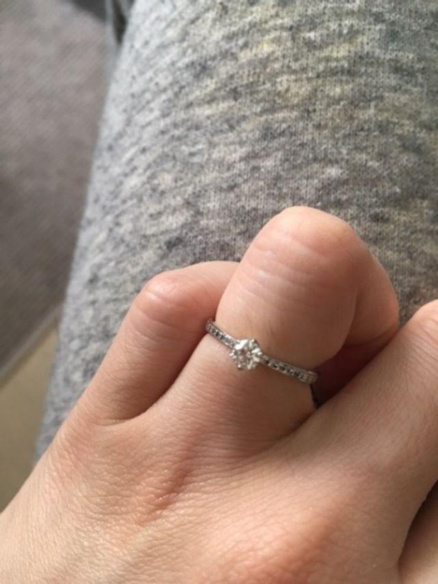 婚約指輪:かれん(ホワイトダイヤモンド0.202ct)