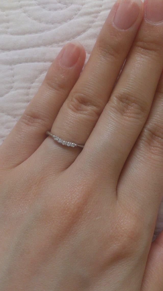 桂由美さんデザインのリングです