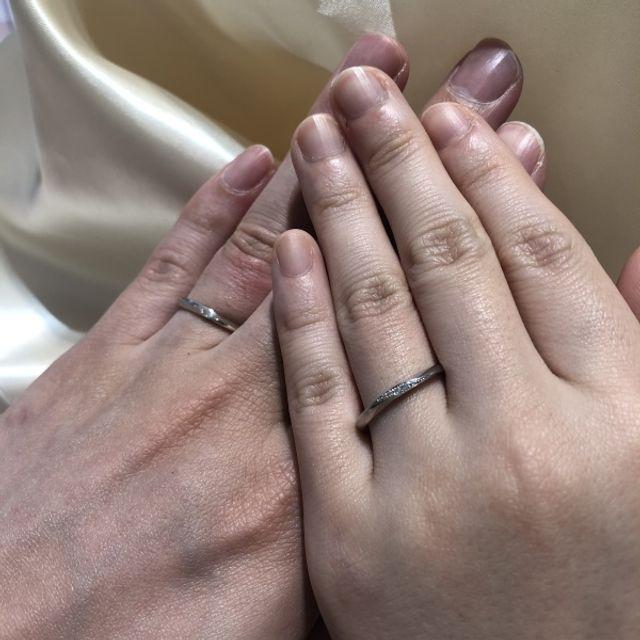 着け心地の良い指輪で満足です。
