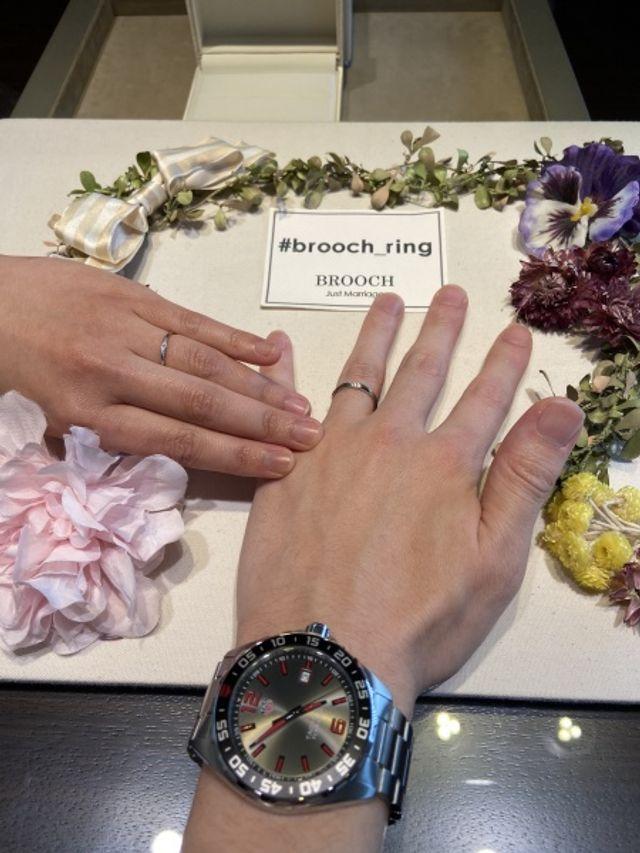 結婚指輪と一緒に時計も購入しました!!