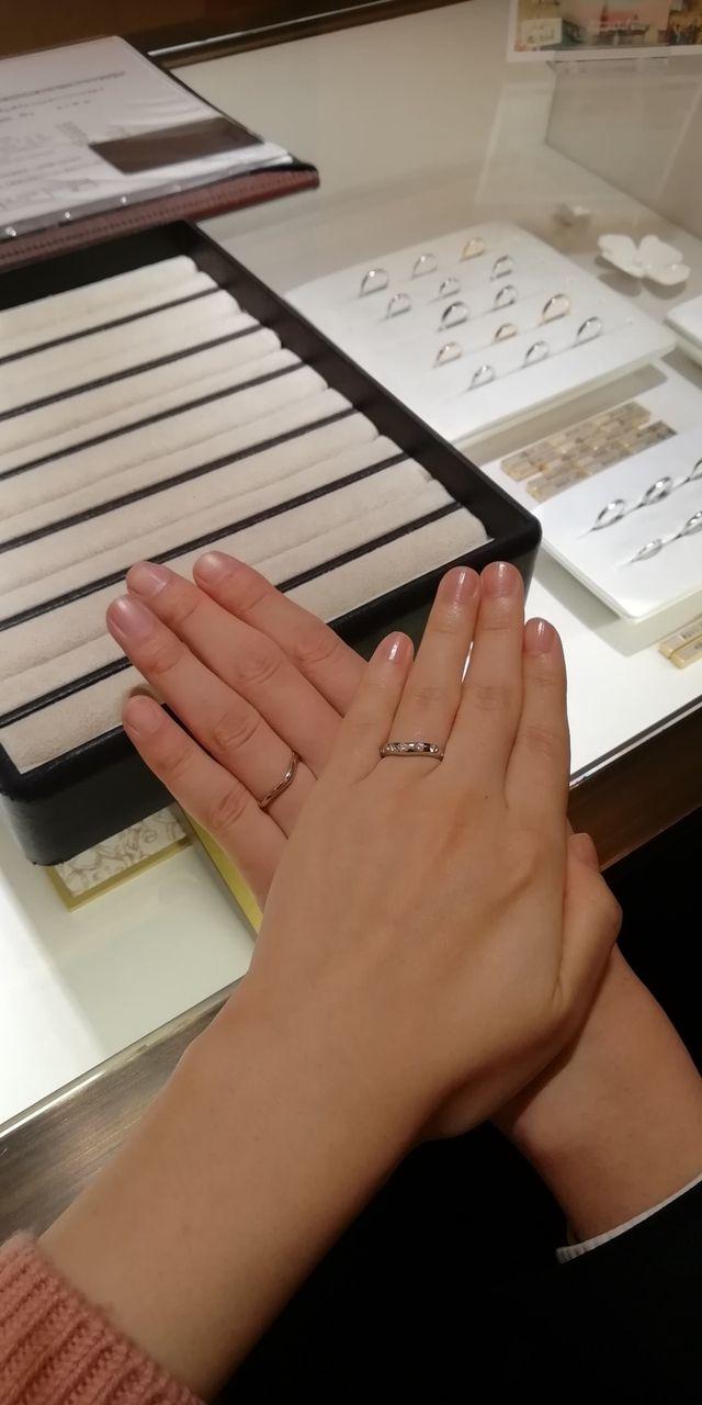 夫の指輪は、同フェディの商品番号347177