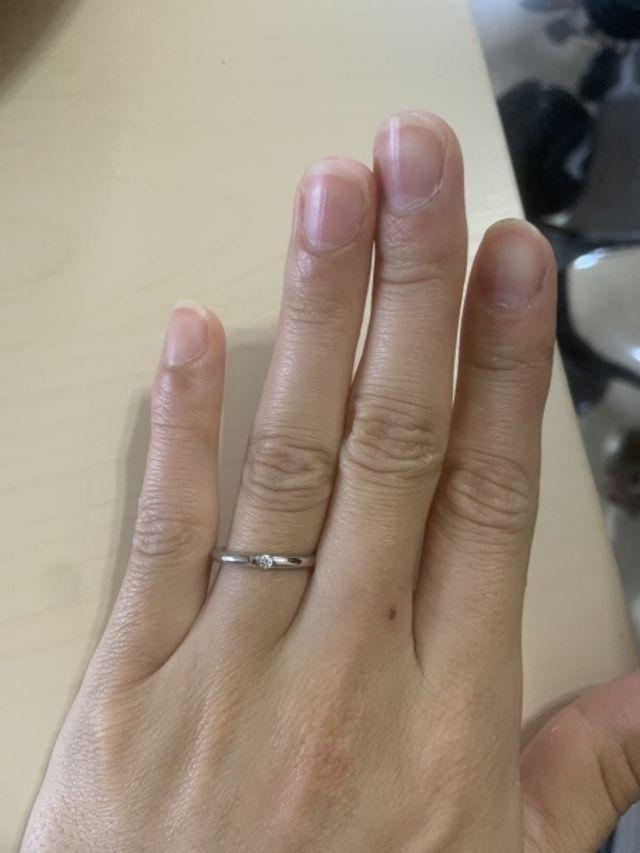 指馴染みがよく、良い意味でつけている感覚がありません。