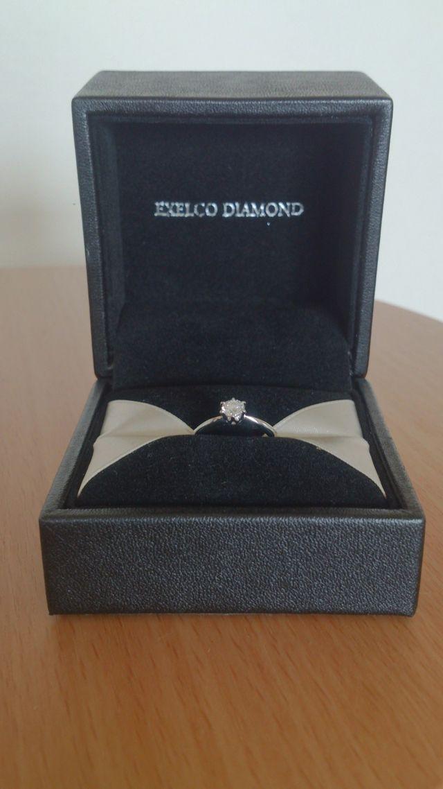 EXELCO DIAMONDのエンゲージリング