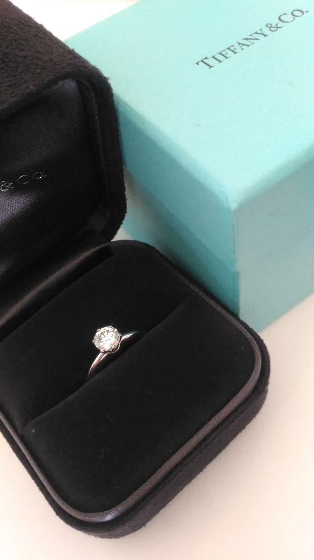 Tiffany&Co 婚約指輪 0.7ct VS1