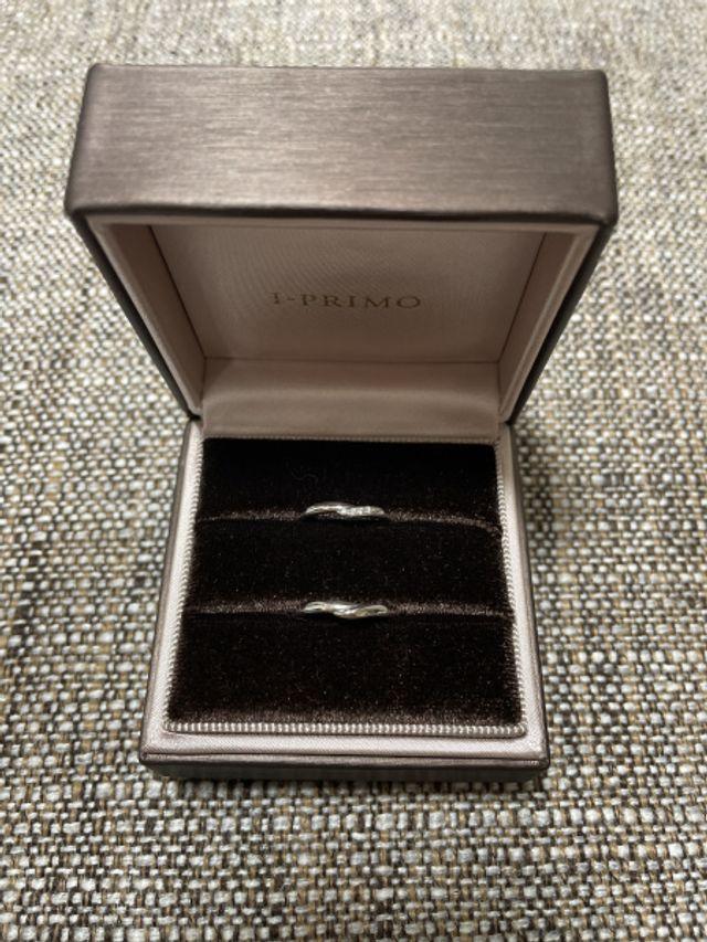 クレメンティアという慈悲、寛容の女神の名前の結婚指輪です!