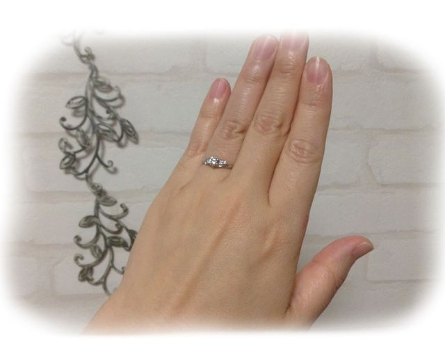 とても綺麗な指輪に仕上げて頂けました。満足しています。